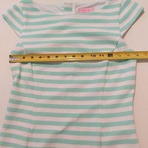 Lilly Pulitzer Dresses - Lilly Pulitzer sea foam striped dress